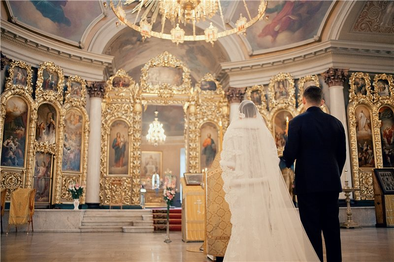 Religious weddings in Moscow